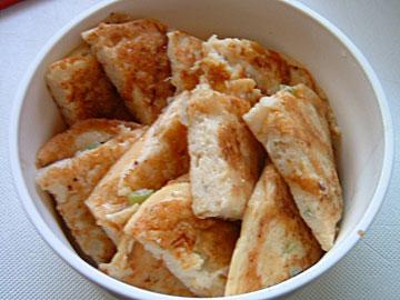 豆腐のフワフワお焼き