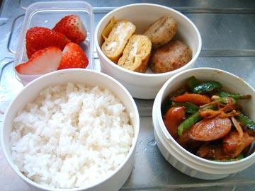 コチュジャン野菜炒め弁当