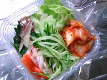 韓国風冷麺弁当