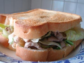 豚しゃぶサンドイッチ,豚しゃぶバーガー